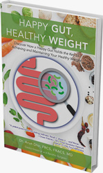 Happy Gut Healthy Weight book cover