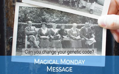 Can you change your genetic code?