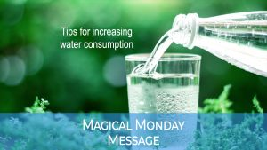 Tips for increasing water consumption
