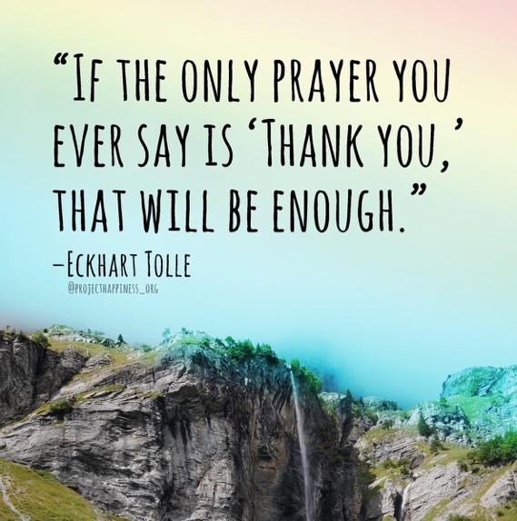 When Gratitude Meets Intention, It Births Magic