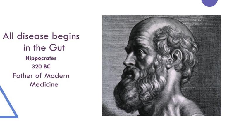 All disease begins in gut