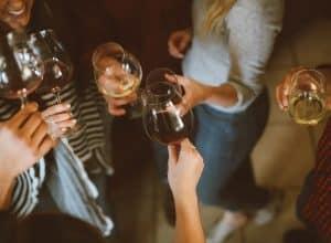 alcohol at social functions