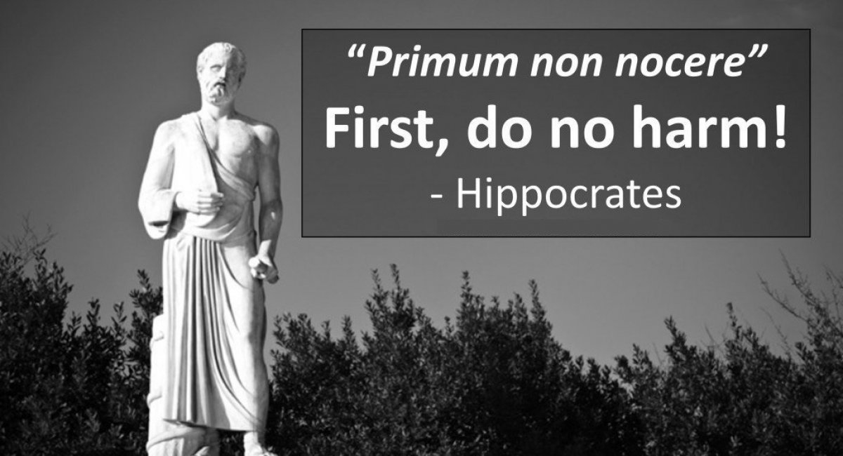 first do no harm hippocrates