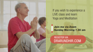 register for yoga and meditation class